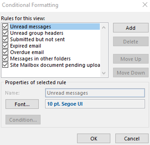 formatting messages